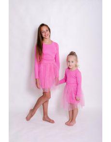 Платье розовое(158-164)